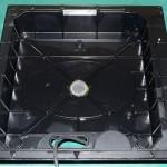 Technics (テクニクス) SP-10mk2A オイルで汚れたボトムケース内部