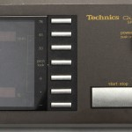 Technics (テクニクス) SP-10mk3 コントロールユニットパネル面 オーバーホール前