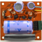 Technics (テクニクス) SP-10 電源回路基板 部品面 オーバーホール前