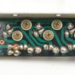 Technics (テクニクス) SP-10 パワートランジスタ回路基板 半田面 オーバーホール前