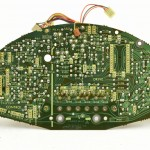 Technics (テクニクス) SP-15 ドライブ回路基板 半田面 オーバーホール前