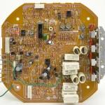 Lo-D (ローディー) TU-1000 コントロール回路基板 部品面 オーバーホール前