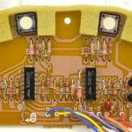 Lo-D (ローディー) TU-1000 スイッチ回路基板 部品面 オーバーホール後