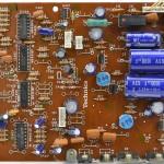 Technics (テクニクス) SL-1000mk3 電源・オペレーション回路基板部品面 オーバーホール前
