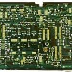 Technics (テクニクス) SL-1000mk3 コントロール回路基板半田面 オーバーホール前