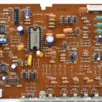 Technics (テクニクス) SL-1000mk3 ドライブ回路基板部品面 オーバーホール前