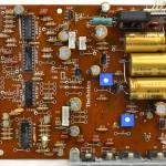 Technics (テクニクス) SL-1000mk3 電源・オペレーション回路基板部品面 オーバーホール後