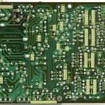 Technics (テクニクス) SL-1000mk3 電源・オペレーション回路基板半田面 オーバーホール後