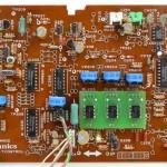 Technics (テクニクス) SL-1000mk3 コントロール回路基板部品面 オーバーホール後