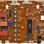 Technics (テクニクス) SL-1000mk3 オペレーション回路基板部品面 オーバーホール後