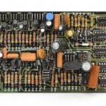 DENON (デノン) DP-6000 Phase Lock Amp Unit 部品面 オーバーホール前