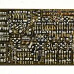 DENON (デノン) DP-6000 位相アンプ回路基板 半田面 オーバーホール前