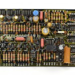 DENON (デノン) DP-6000 位相アンプ回路基板 部品面 オーバーホール後