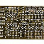 DENON (デノン) DP-6000 位相アンプ回路基板 半田面 オーバーホール後