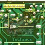 Technics (テクニクス) SP-10mk3 腐食した回路パターン