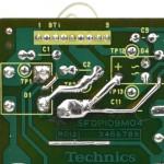 Technics (テクニクス) SP-10mk3 修正後の回路パターン
