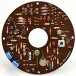 Technics (テクニクス) SP-10 コントロール回路基板 部品面 オーバーホール後