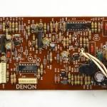 DENON (デノン) DP-80 サーボコントロール回路基板 部品面 オーバーホール後