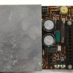 DENON (デノン) DP-6000 SERVO AMP回路基板 部品面 オーバーホール前