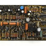 DENON (デノン) DP-6000 PHASE LOCK AMP回路基板 部品面 オーバーホール前