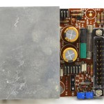 DENON (デノン) DP-6000 SERVO AMP回路基板 部品面 オーバーホール後