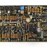 DENON (デノン) DP-6000 PHASE LOCK AMP回路基板 部品面 オーバーホール後