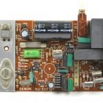 DENON (デノン) DP-6000 駆動アンプ回路基板 部品面 オーバーホール前