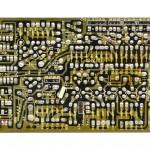 DENON (デノン) DP-6000 位相サーボアンプ回路基板 半田面 オーバーホール前