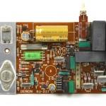 DENON (デノン) DP-6000 駆動アンプ回路基板 部品面 オーバーホール後