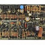DENON (デノン) DP-6000 位相サーボアンプ回路基板 部品面 オーバーホール後