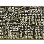 DENON (デノン) DP-6000 位相サーボアンプ回路基板 半田面 オーバーホール後
