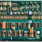 Technics (テクニクス) SP-10mk2 論理回路基板 部品面 オーバーホール前