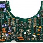 Technics (テクニクス) SL-01 メイン回路基板 部品面 オーバーホール前