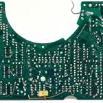 Technics (テクニクス) SL-01 メイン回路基板 半田面 オーバーホール後