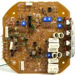 Lo-D (ローディ) TU-1000 メイン回路基板 部品面 オーバーホール後
