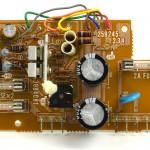 Lo-D (ローディ) TU-1000 電源回路基板 部品面 オーバーホール後