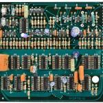 Technics (テクニクス) SP-10nk2 論理回路基板 部品面 オーバーホール前