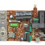 DENON (デノン) DP-6000 駆動回路基板 部品面 オーバーホール前