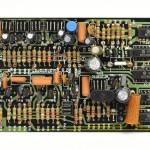 DENON (デノン) DP-6000 位相制御回路基板 部品面 オーバーホール前