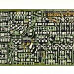 DENON (デノン) DP-6000 位相制御回路基板 半田面 オーバーホール前