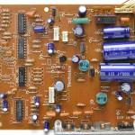 Technics (テクニクス) SL-1000mk3 電源・オペレーション回路基板 部品面 オーバーホール前