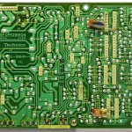 Technics (テクニクス) SL-1000mk3 電源・オペレーション回路基板 半田面 オーバーホール前