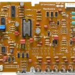 Technics (テクニクス) SL-1000mk3 ドライブ回路基板 部品面 オーバーホール後