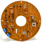 LUXMAN (ラックスマン) PD121 制御回路基板 部品面 オーバーホール後