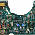 Technics (テクニクス) SL-01 メイン回路基板 部品面 オーバーホール後