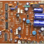 Technucs (テクニクス) SP-10mk3 電源・オペレーション回路基板 部品面 オーバーホール前