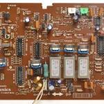 Technucs (テクニクス) SP-10mk3 コントロール回路基板 部品面 オーバーホール前