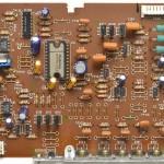 Technucs (テクニクス) SP-10mk3 ドライブ回路基板 部品面 オーバーホール前