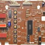 Technucs (テクニクス) SP-10mk3 オペレーション回路基板 部品面 オーバーホール前