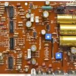 Technucs (テクニクス) SP-10mk3 電源・オペレーション回路基板 部品面 オーバーホール後